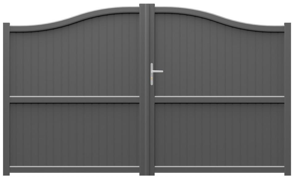 Portail battant aluminium portail aluminium sur mesure portail alu coulissant for Prix portail alu
