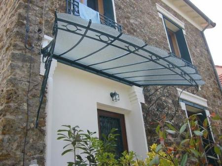marquise auvent en fer forg marquise wrought iron canopy