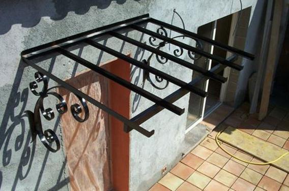 marquise en fer forg marquise en bois marquise en acier fabricant marquise auvent. Black Bedroom Furniture Sets. Home Design Ideas