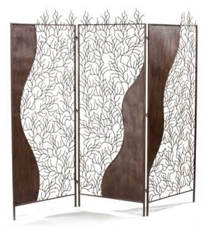 paravent en fer forg screen schmiedeeisen schermo ferro battuto screen wrought iron. Black Bedroom Furniture Sets. Home Design Ideas