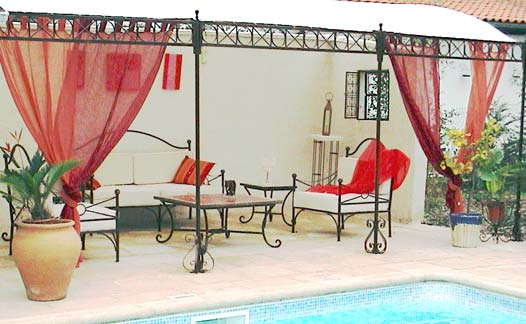 emejing salon de jardin type marocain ideas amazing. Black Bedroom Furniture Sets. Home Design Ideas