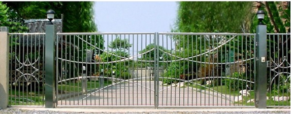 Porte de jardin metallique meilleures id es cr atives for Portillon metallique jardin